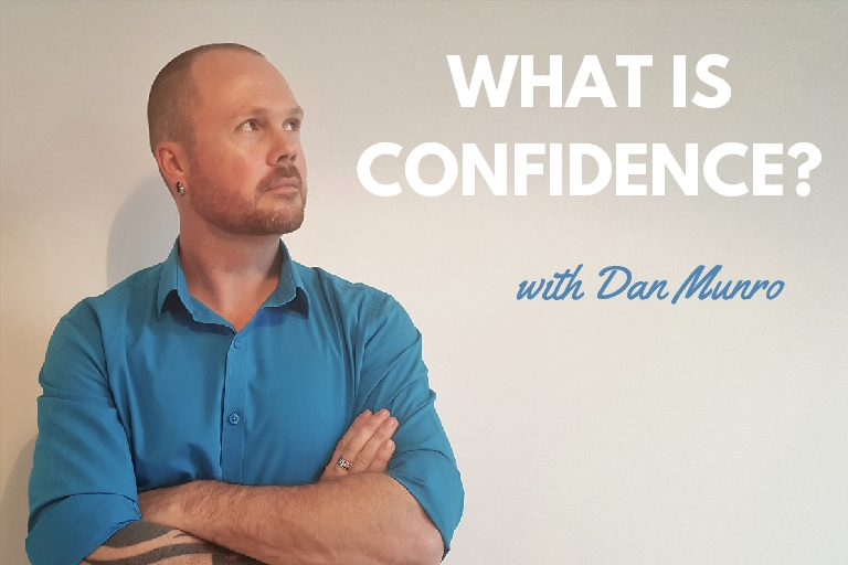 What is confidence in a man